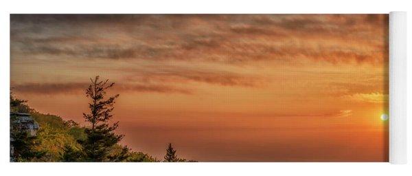 Daybreak At Bear Rocks Yoga Mat