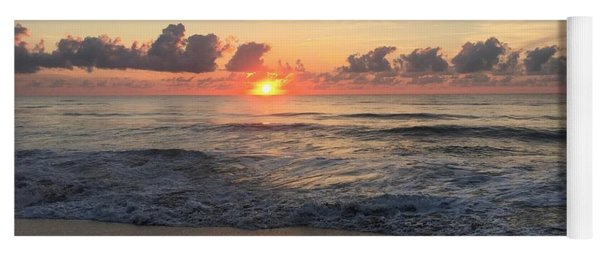 Daybreak At Cocoa Beach Yoga Mat