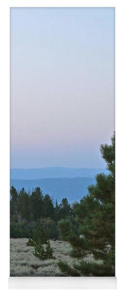 Daybreak On The Mountain Yoga Mat