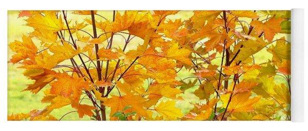 Days Of Autumn 1 Yoga Mat