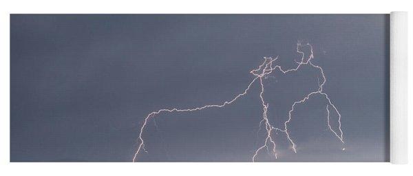 Daytime Lightning Yoga Mat
