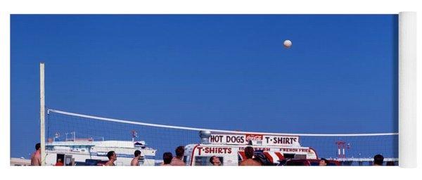 Daytona, Beach, Volley Ball, Florida Yoga Mat