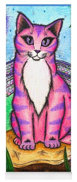 Dea Dragonfly Fairy Cat Yoga Mat