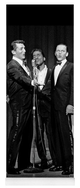 Dean Martin, Sammy Davis Jr. And Frank Sinatra. Yoga Mat