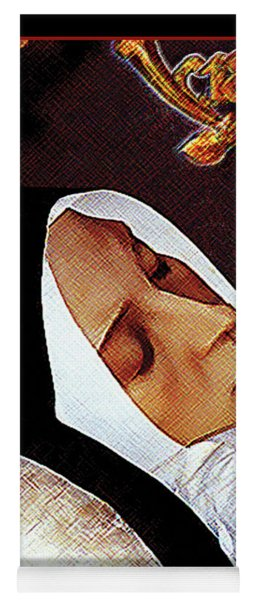 Death Of St. Bernadette - Dpdob2 Yoga Mat