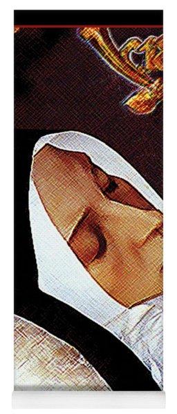 Death Of St. Bernadette - Dpdob2 Yoga Mat