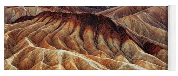 Death Valley Erosion Yoga Mat