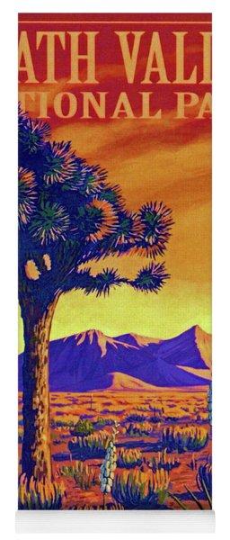 Death Valley Yoga Mat