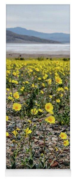 Death Valley Super Bloom Yoga Mat