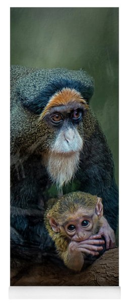 Debrazza's Monkey And Baby Yoga Mat