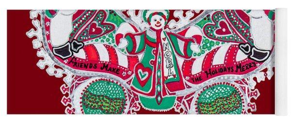 December Butterfly Yoga Mat