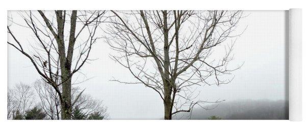 December Mist Yoga Mat