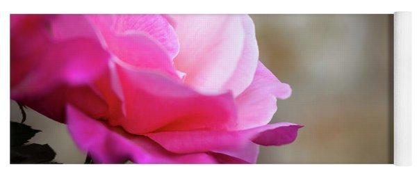 December Rose Yoga Mat