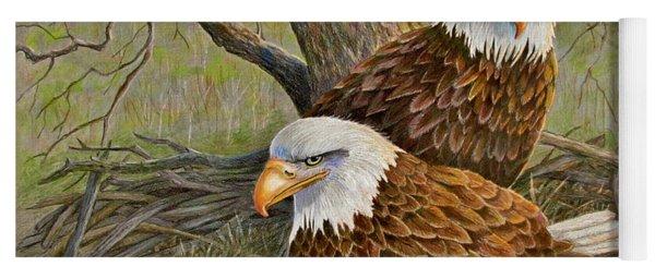 Decorah Eagle Family Yoga Mat
