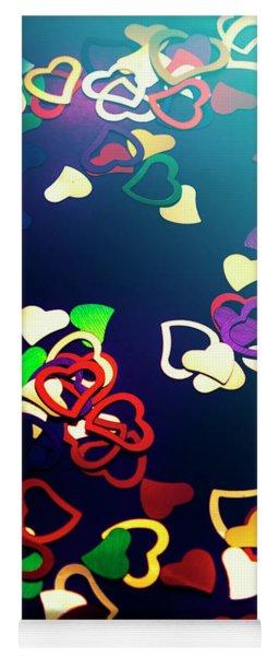 Decorations In Romance Yoga Mat