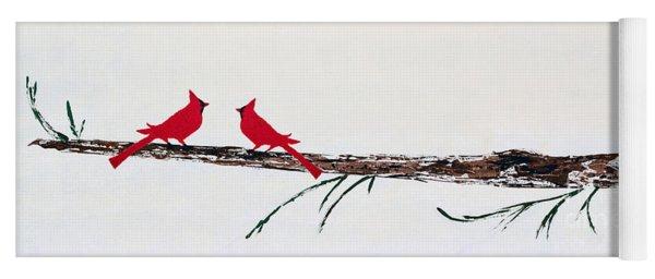 Decorative Cardinals A101216 Yoga Mat