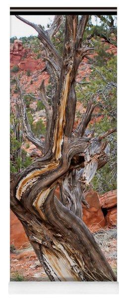 Decorative Dead Tree Yoga Mat