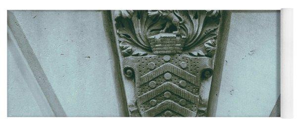Decorative Keystone Architecture Details C Yoga Mat