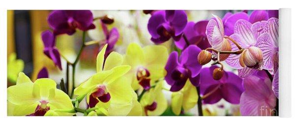 Decorative Orchids Still Life C82418 Yoga Mat