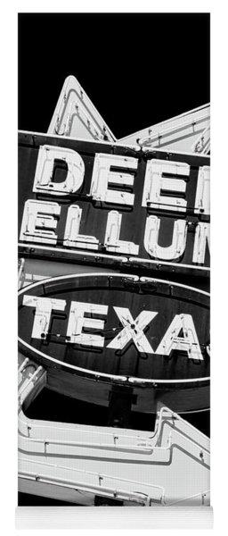 Deep Ellum Texas Yoga Mat