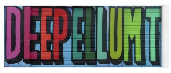 Deep Ellum Wall Art Yoga Mat