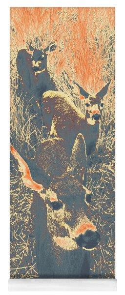 Deer #11 Yoga Mat