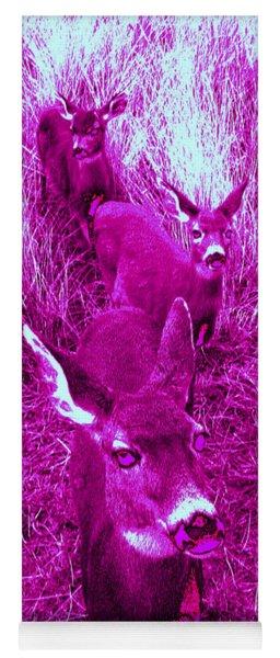 Deer #4 Yoga Mat