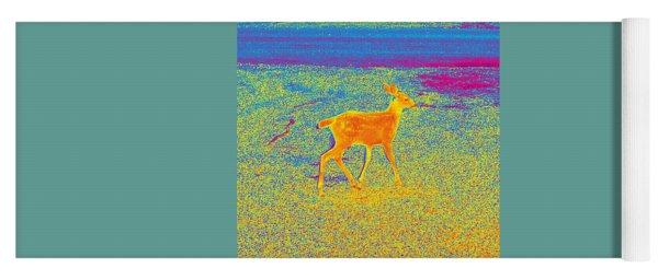 Deer #6 Yoga Mat