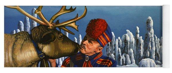 Deer Friends Of Finland Yoga Mat