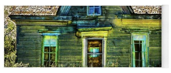 Deer Isle Haunted House Yoga Mat