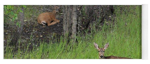 Deer Mom Yoga Mat