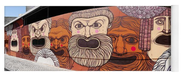 Defiant Graffitti Yoga Mat