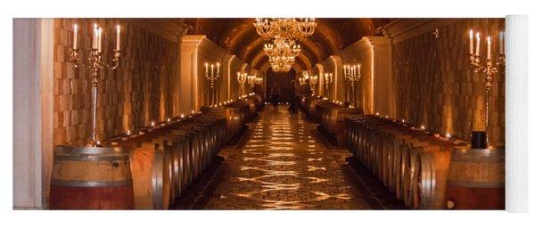 Del Dotto Wine Cellar Yoga Mat