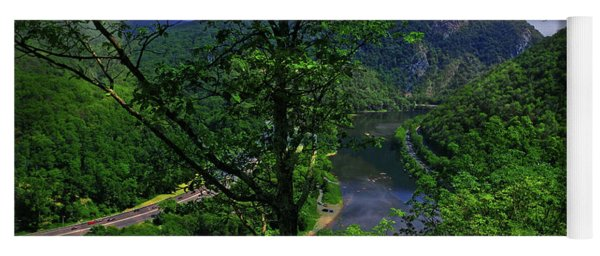 Delaware Water Gap Yoga Mat