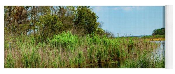 Delaware Wetlands Yoga Mat