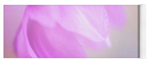 Delicate Pink Anemone Yoga Mat