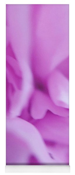 Yoga Mat featuring the photograph Delicate Pink by Marian Palucci-Lonzetta