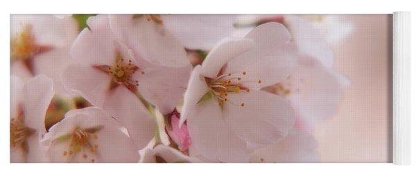Delicate Spring Blooms Yoga Mat