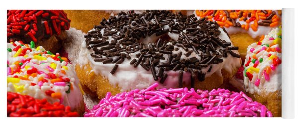 Delicious Donuts Yoga Mat