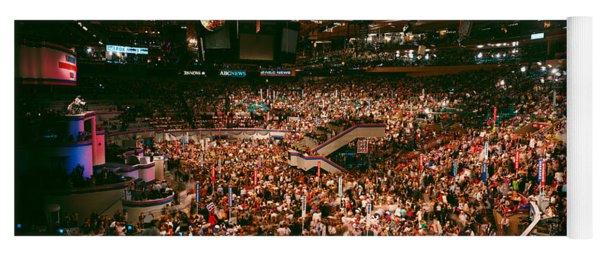 Democratic Convention At Madison Square Yoga Mat