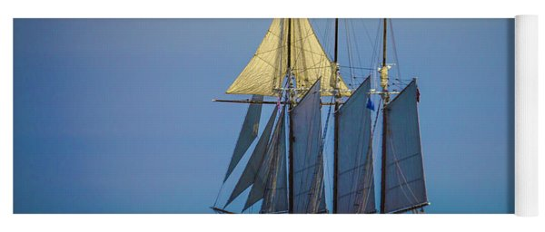 Denis Sullivan - Three Masted Schooner Yoga Mat