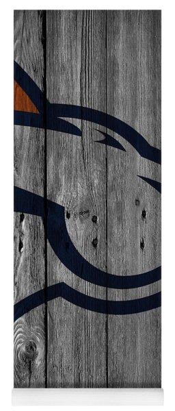 Denver Broncos Wood Fence Yoga Mat