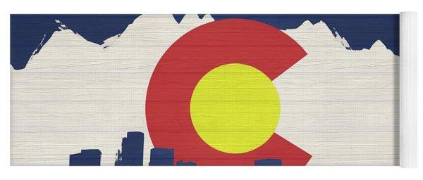Denver Colorado  Yoga Mat