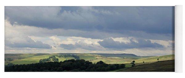 Derbyshire Landscape Peak District Yoga Mat