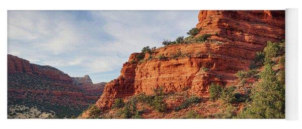 Descending Doe Mountain  Yoga Mat