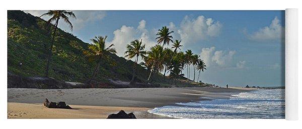 Desert Beach - Brazil - Coqueirinho - Paraiba Yoga Mat