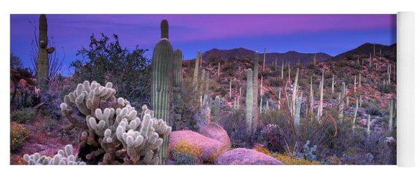 Desert Garden Yoga Mat