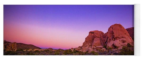 Yoga Mat featuring the photograph Desert Grape Rock by T Brian Jones