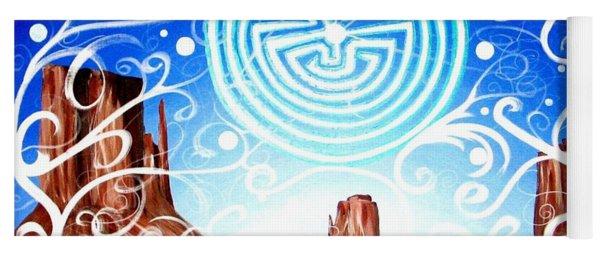 Desert Hallucinogens Yoga Mat