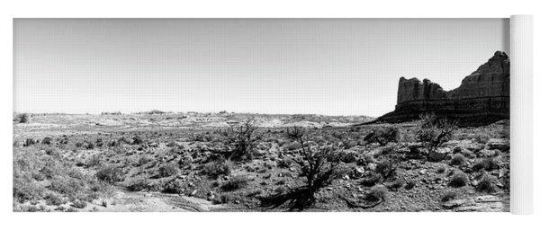 Desert Landscape - Arches National Park Moab, Utah Yoga Mat
